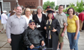 Ellars-George (Peters) family at Jessica's graduation from Oregon State (June 2009)