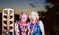Ray and Phyllis at a luau in Maui, Hawai`i (2007)